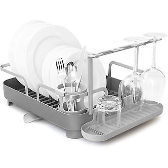 Umbra 1008163-149 Holster Dish Rack Charcoal, Stainless-Steel, 41.91 x 34.29 x 15.24 cm