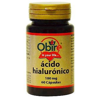 Obire hyaluronsyra 100 mg 60 kapslar