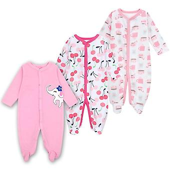 Vauvanvaatteet Vastasyntyneet Nukkujat Puuvilla Sleepwear Vauvanvaatteet Vauvanvaatteet