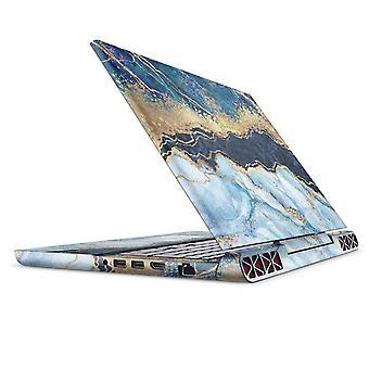 Folieret marmor Agat - Full Body Hud Decal Wrap Kit til Dell