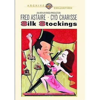 Silkkisukkien (1957) [DVD] Tuonti Yhdysvalloista