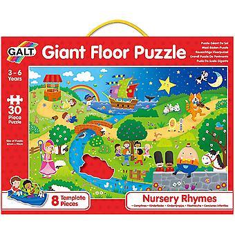 Nursery Rhymes Giant Floor Puzzle