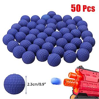 50pcs 2.3cm Pu Buoyancy Rounds Bullet Balls Kids Toy Ball For Hunting Garden
