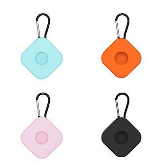 4Pcs para airtags caso de proteção anti chaveiro perdido quadrado ac01