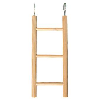 Arquivet Small 3 Sep Wooden Ladder (Birds , Bird Cage Accessories , Perches & Posts)