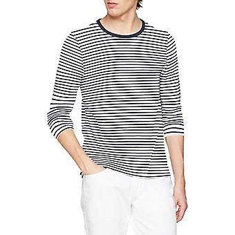 Scotch & Soda Classic Long Sleeve Jersey Tee T-Shirt, Multicolored (Combo A 0217), X-Large Men