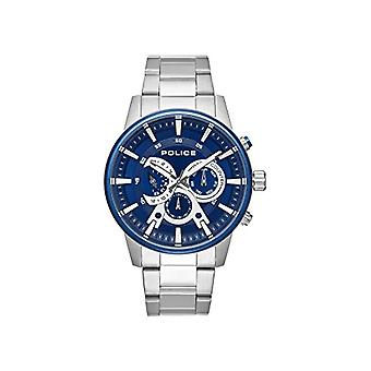 Police Men's Quartz Multi-Dial Watch with Stainless Steel Strap PL.15523JSTBL/03M