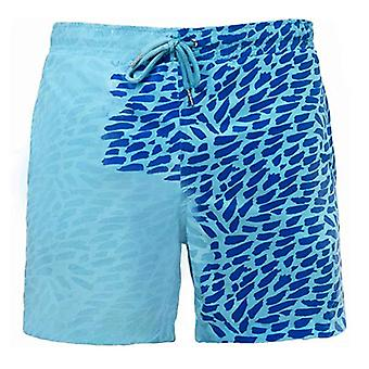 Discoloration Quick dry Beach Swimming Trunks
