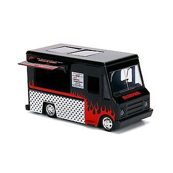 Taco Truck Diecast -malliauto Deadpool Comicsistä