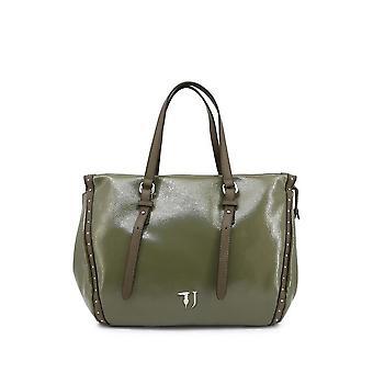 Trussardi -BRANDS - Bags - Shoulder bags - PORTULACA-75B00537-99G260 - Ladies - darkolivegreen,saddlebrown
