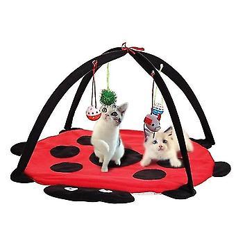 لقط سرير الحيوانات الأليفة لعبة شجرة الأثاث البيت بوست سكراتشر لعب كوندو كيتن برج جديد| ألعاب القط WS27094