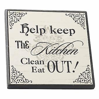 Magnet Kitchen Clean Eat Out by Heaven Sends