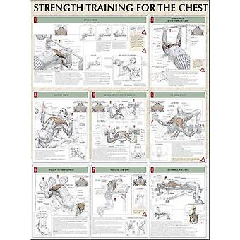 Chest Poster by Frederic Delavier