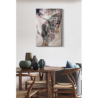 Kanvas Tablo (50 x 70) - 79 flerfärgade dekorativa dukmålning