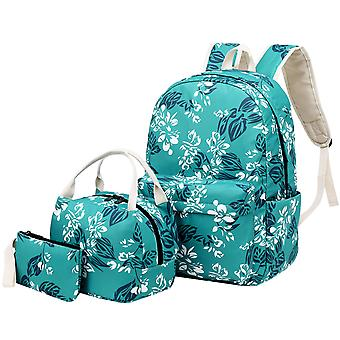 Floral Fashion Backpack For High School Teen Girls