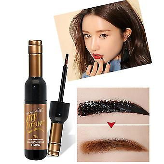 Novo Novel Design Red Wine Bottle Shape Eyebrow Makeup Mascara Cream Gel