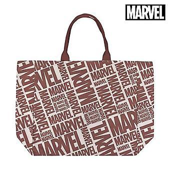 Bag Marvel Handles Red Beige