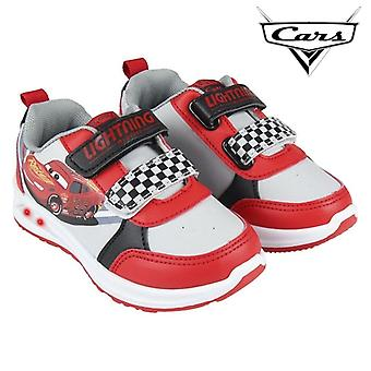 LED Trainers Cars Red