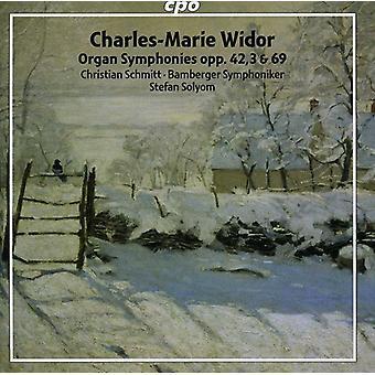 C.M. Widor - Charles-Marie Widor: Orgel symfonier Opp. 42/3 & 69 [SACD] USA import