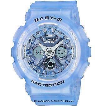 Reloj de esfera azul Casio Women's Baby-g - BA130CV-2A