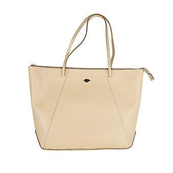 Light beige shopping bag