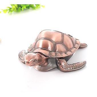 Sea Turtles Ashtray With Lid Cigar Cigarette Metal Windproof Ash Tray Gift Windproof Metal Ashtray
