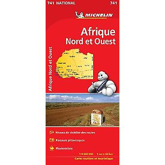Africa North  West  Michelin National Map 741 Map Michelin National Maps 741