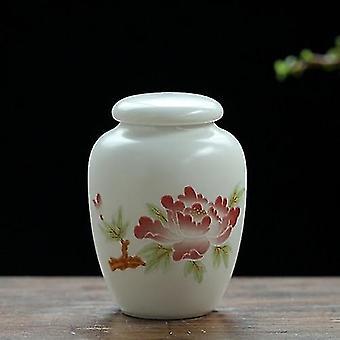 Urna tradicional de cerâmica memorial