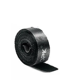 Roll Hook Loop Tape Strap Cable Tie Fastener -self Adhesive