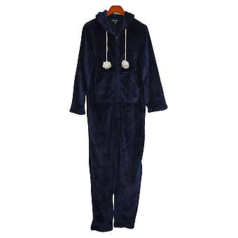 Skinnygirl Jumpsuits Soft Long Sleeve One-Piece Blue