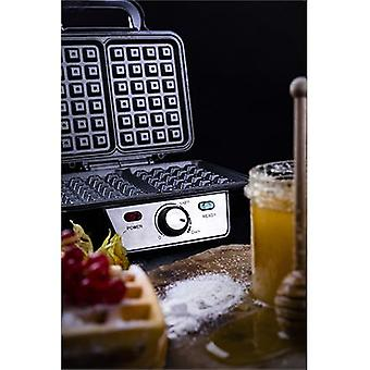 Camry Waffle Maker CR 3046 1600 W, Number of pastries 2, Belgium, black/stainless steel