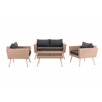 Mobili da Giardino - Mobili da Giardino - Mobili Lounge - Grigio Moderno 100 cm x 60 cm x 30 cm