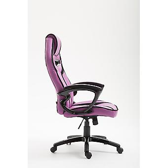 Silla de oficina - Silla de escritorio - Oficina en casa - Moderna - Púrpura - Plástico