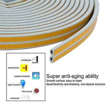 12m Foam Draught Excluder D Type Seal Strip Insulation For Door Window New