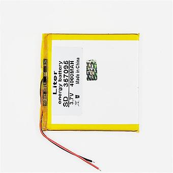 3.7v 357095 4000mah (polymer Lithium Ion Battery Replacement Tablet Battery