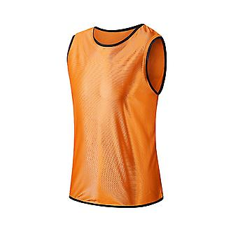 Sleeveless Soccer Training Team Vest Football Jerseys Sports Shirts Adults Breathable For Men Women Basketball Grouping