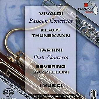 Vivaldi/Tartini - Vivaldi: Bassoon Concertos [SACD] USA import