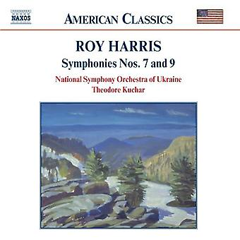 R. Harris - Roy Harris: Symphonies Nos. 7 & 9 [CD] USA import