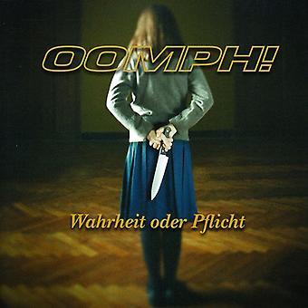 Oomph! - Wahrheit Oder Pflicht [CD] USA import