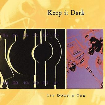 Keep It Dark - 1st Down & Ten [CD] USA import