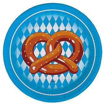Oktoberfest platen 8 St. Oktoberfest dekorasjoner fest øl Festival oktober fest