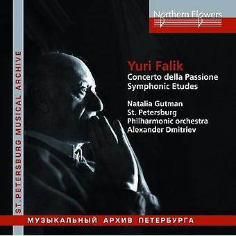 Dmitriev / Gutman - Yuri Falik: Concerto Della Passione Symphonic [CD] USA import