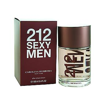 Carolina Herrera 212 sexede mænd Aftershave 100ml Splash