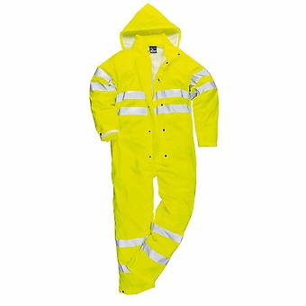 Portwest Mens Sealtex Ultra HiVis Kapuzen Overall Boilersuit