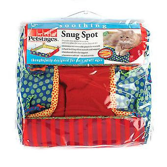 Huisdierentages Snug plek Microwaveable Fleece Bed van de kat