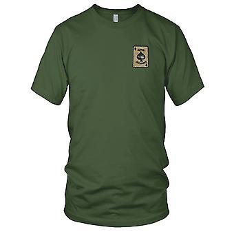 U.S. 2nd Bn 501st infanterie Reg 101st Airborne Div Alpha Avengers - Vietnam geborduurde Patch - Mens T Shirt