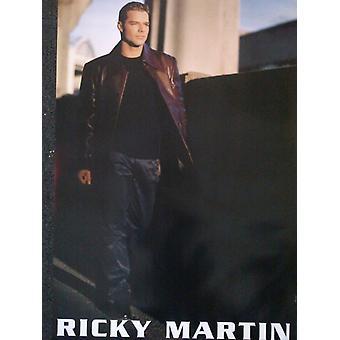 Ricky Martin Promo Shot Poster