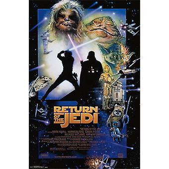 Star Wars - terugkeer van de Jedi Poster Poster afdrukken