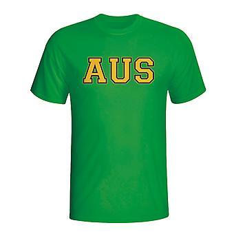 Australia Country Iso T-shirt (green)