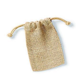 Westford Mill Jute Rope Close Plain Stuff Bag